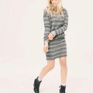 Lou & Grey Striped Blouson Dress